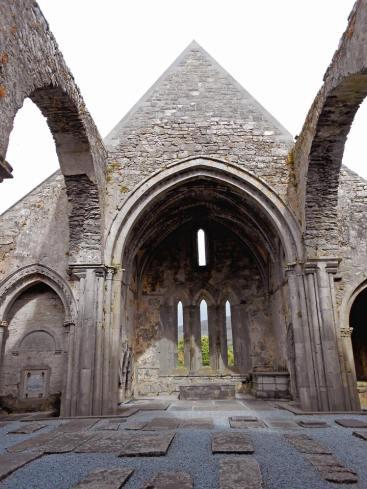 Corcomroe Abbey, juin 2014.