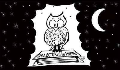 lectures du hibou logo nuit